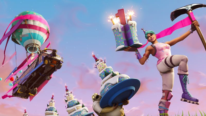 Fortnite Birthday Cake Locations Where To Find Every Cake On The
