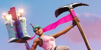 Epic Games wants 'Fortnite' players to dance in front of 10 different birthday cakes.