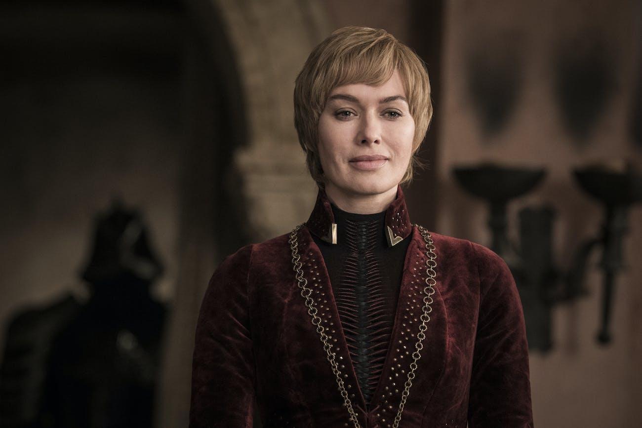 Lena Headey as Cersei Lannister in Season 8, Episode 5 of 'Game of Thrones'.