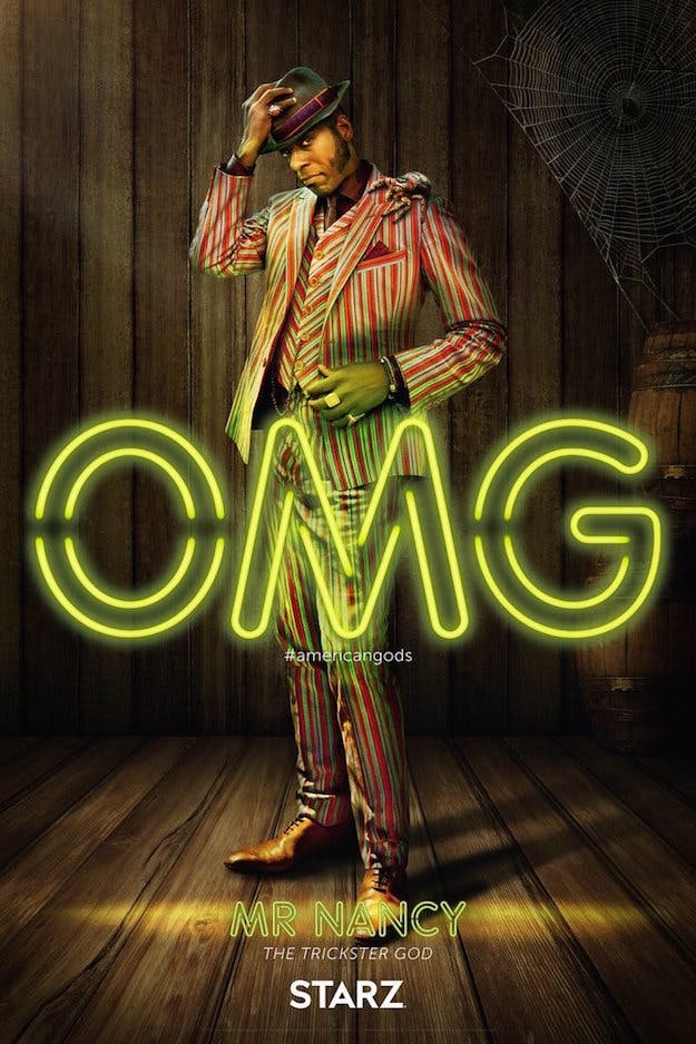 Orlando Jones as Mr. Nancy, aka Anansi in 'American Gods'