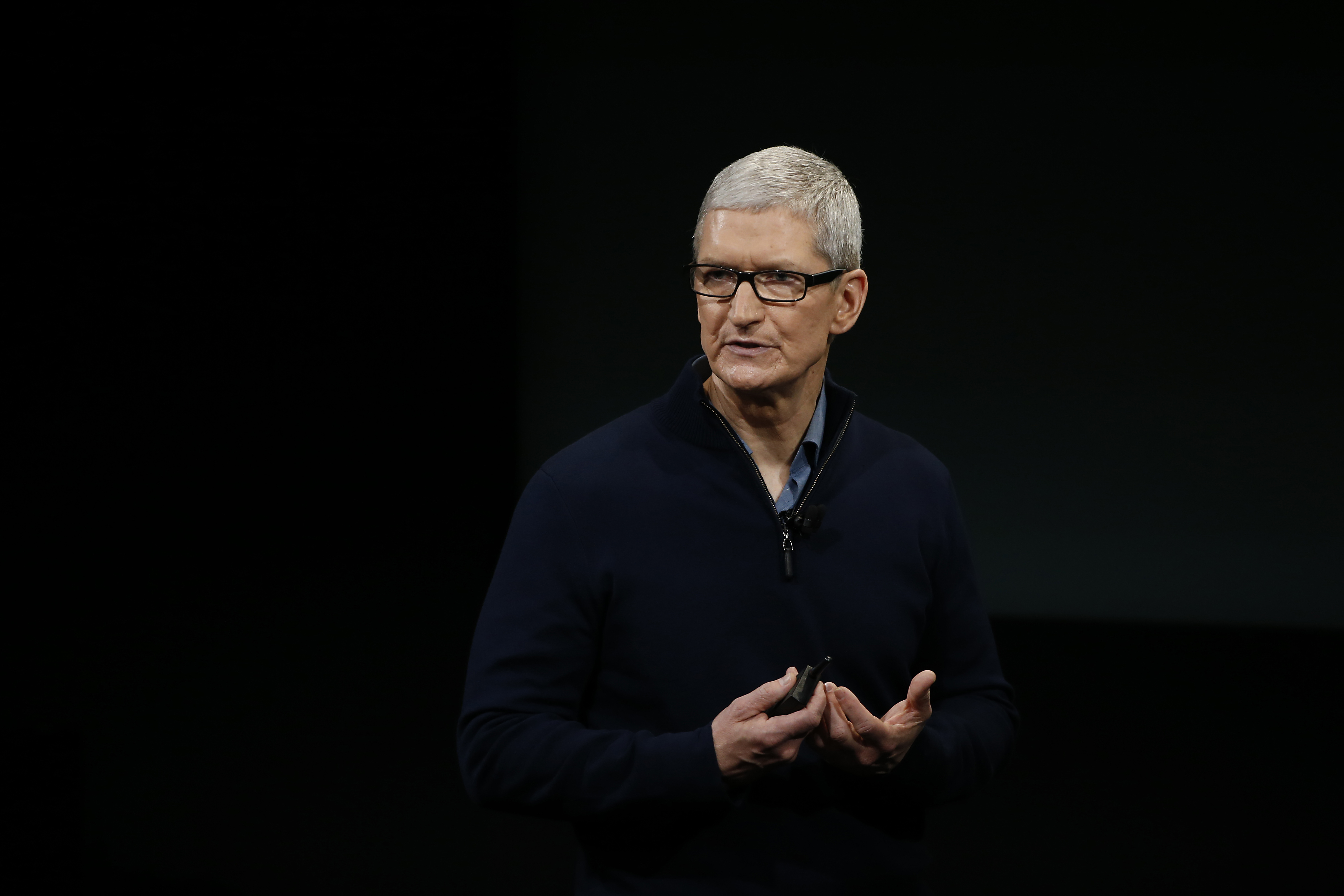 Cook has been CEO of Apple for the past five years.