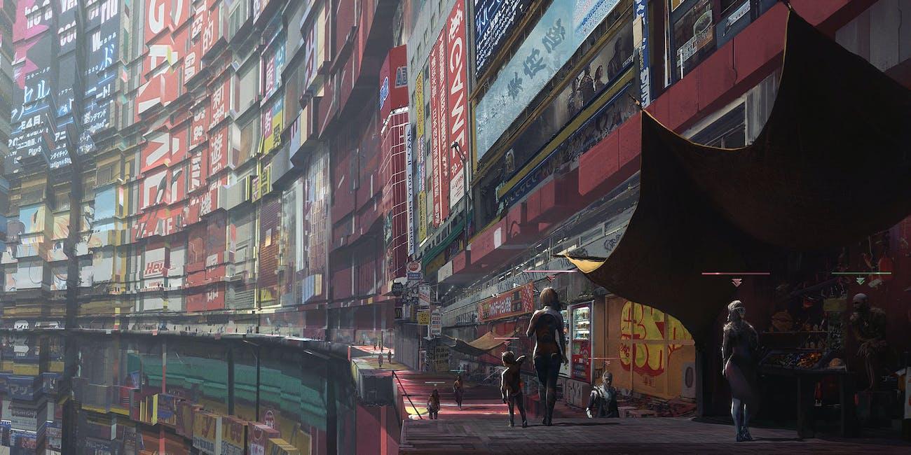 Concept Artist Aur 233 Lien Fournier S Sci Fi Cityscapes Marry