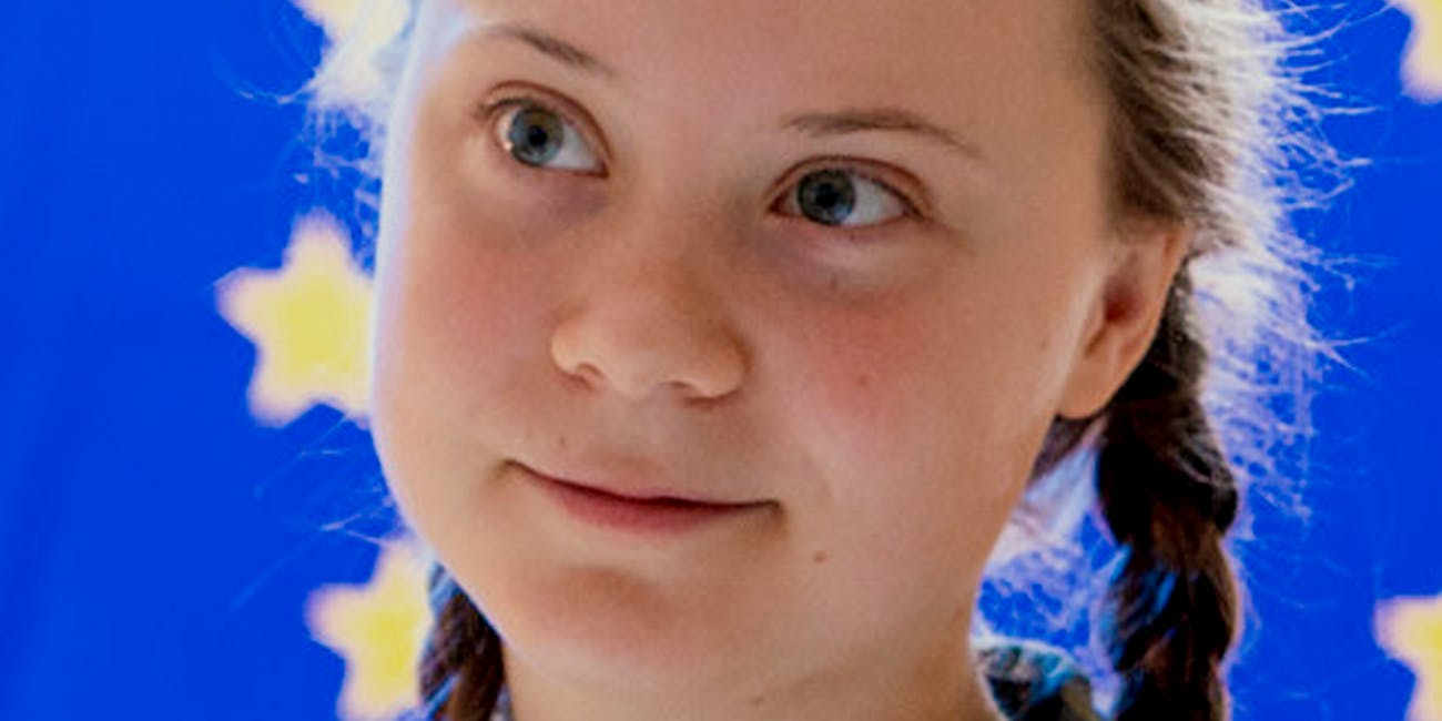 On 16 April 2019, Greta Thunberg is invited by the European Parliament to close the sessions of the Committee on the Environment.