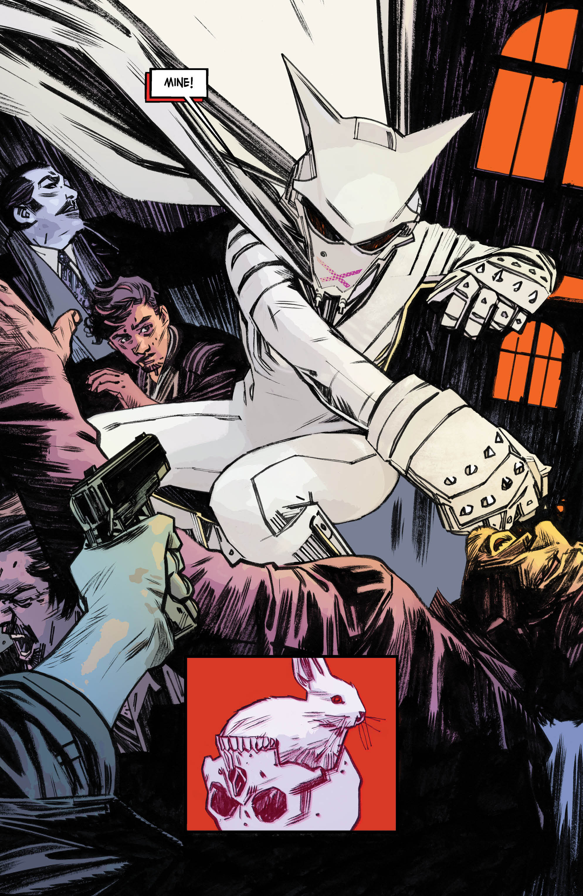 Mother Panic Panel DC Comics Young Animal