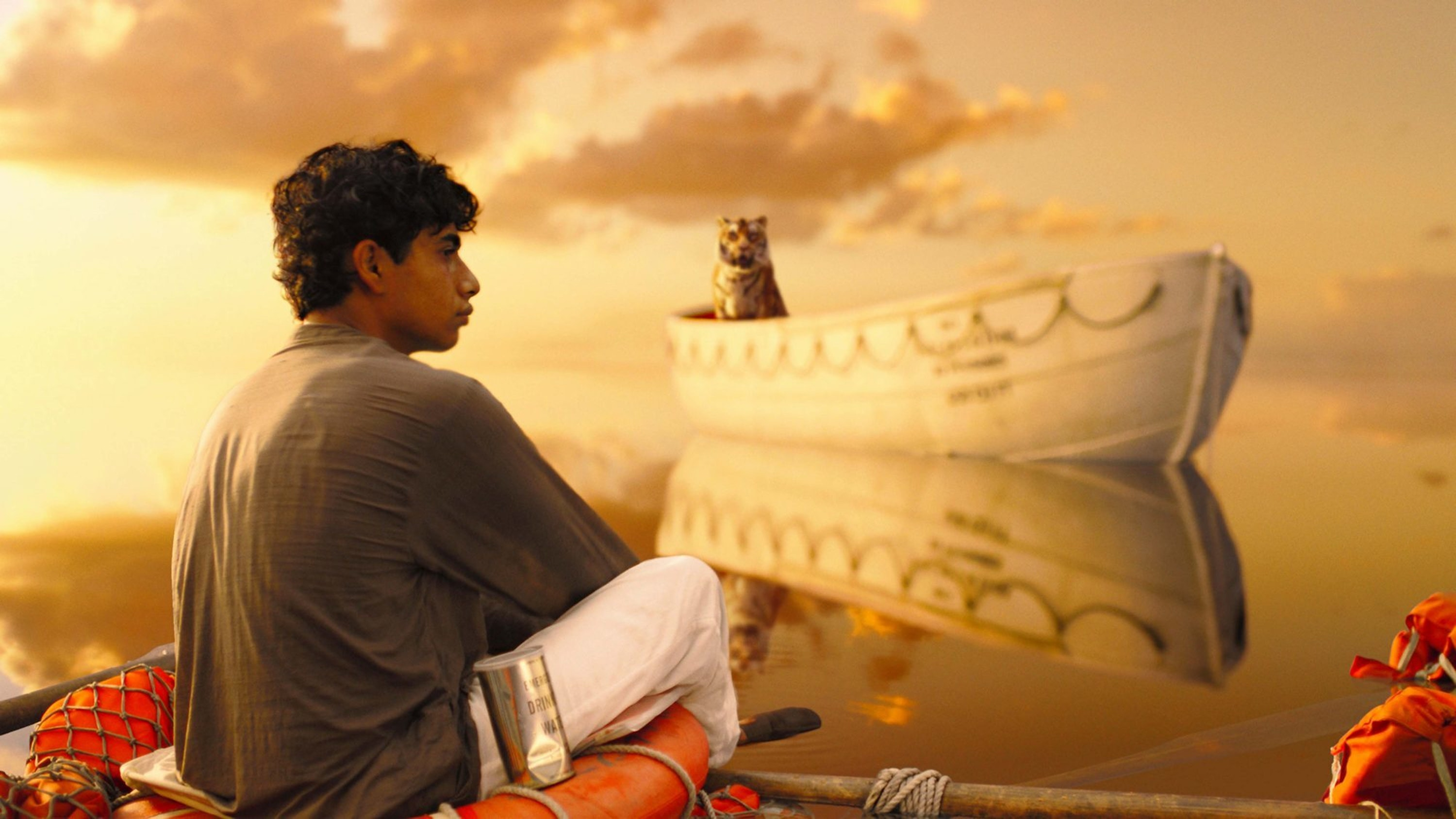 One of the 'liquid gold' scenes from Life of Pi.