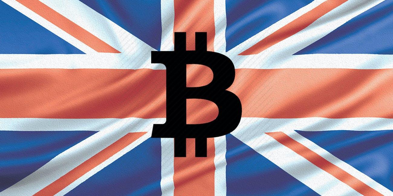 Bitcoin UK flag