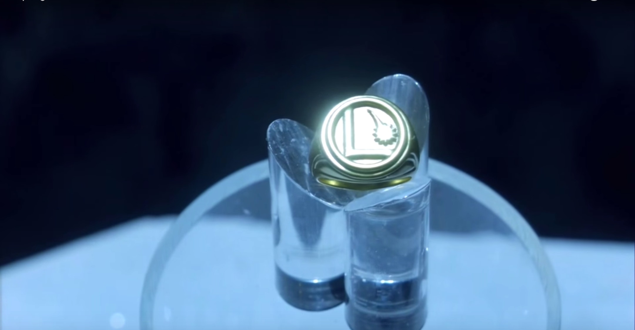 """The Legion of Flight ring in Superman's Fortress of Solitude, from the 'Supergirl' episode """"Solitude."""""""