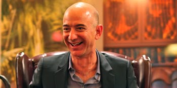 Bezos' Iconic Laugh