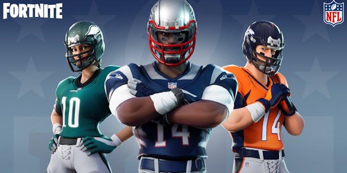 'Fortnite' NFL SKins