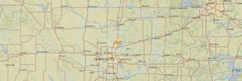 USGS map earthquake Oklahoma