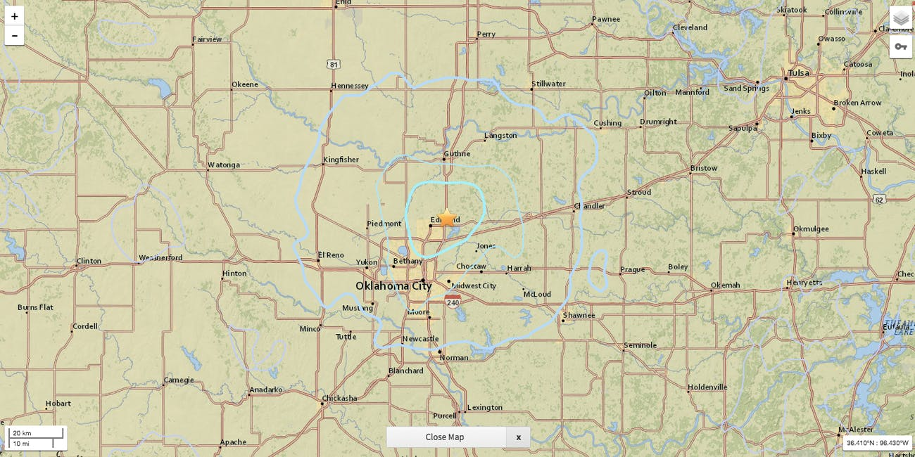 Oklahoma Can Blame the Oil and Gas Industries for Earthquake Spike ...