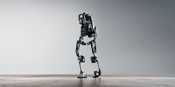 Ekso Bionics Ekso robotic robot exoskeleton walker legs rehabilitation