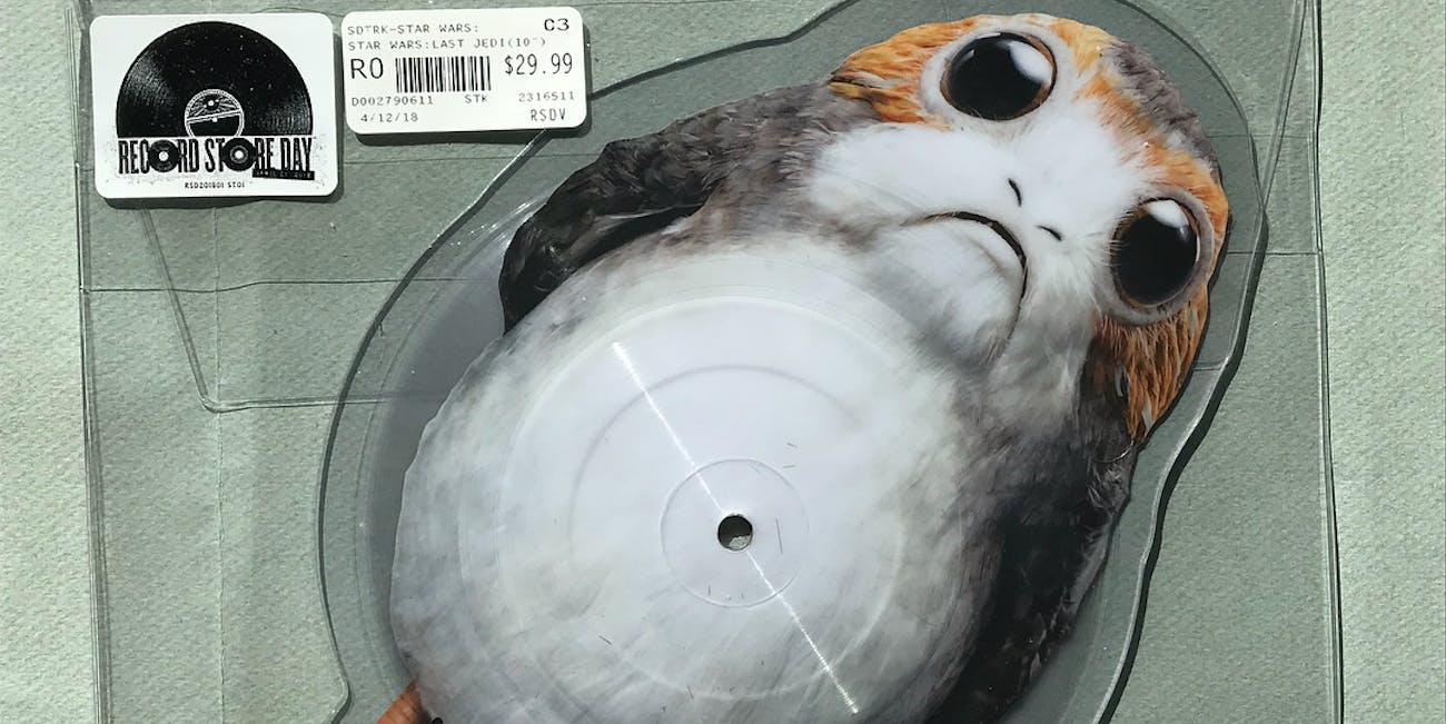 porg vinyl record