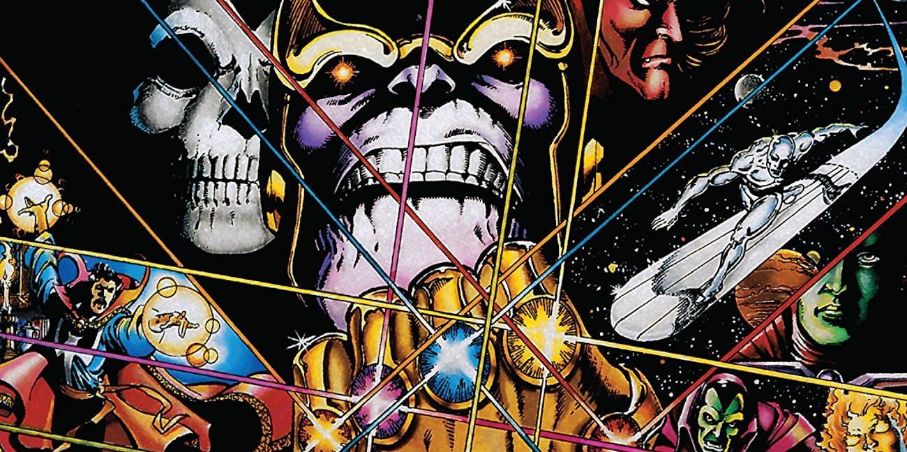 Infinity Gauntlet Jim Starlin