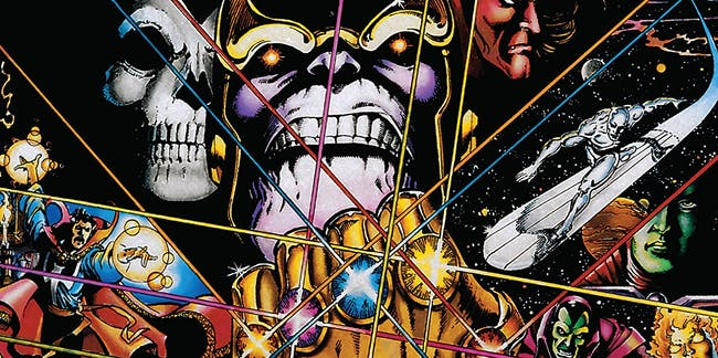 Infinity Gauntlet Jim Starlin