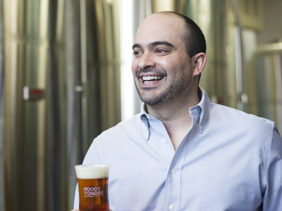 Jared Rouben, Brewmaster of Moody Tongue Brewery | JOB HACKS