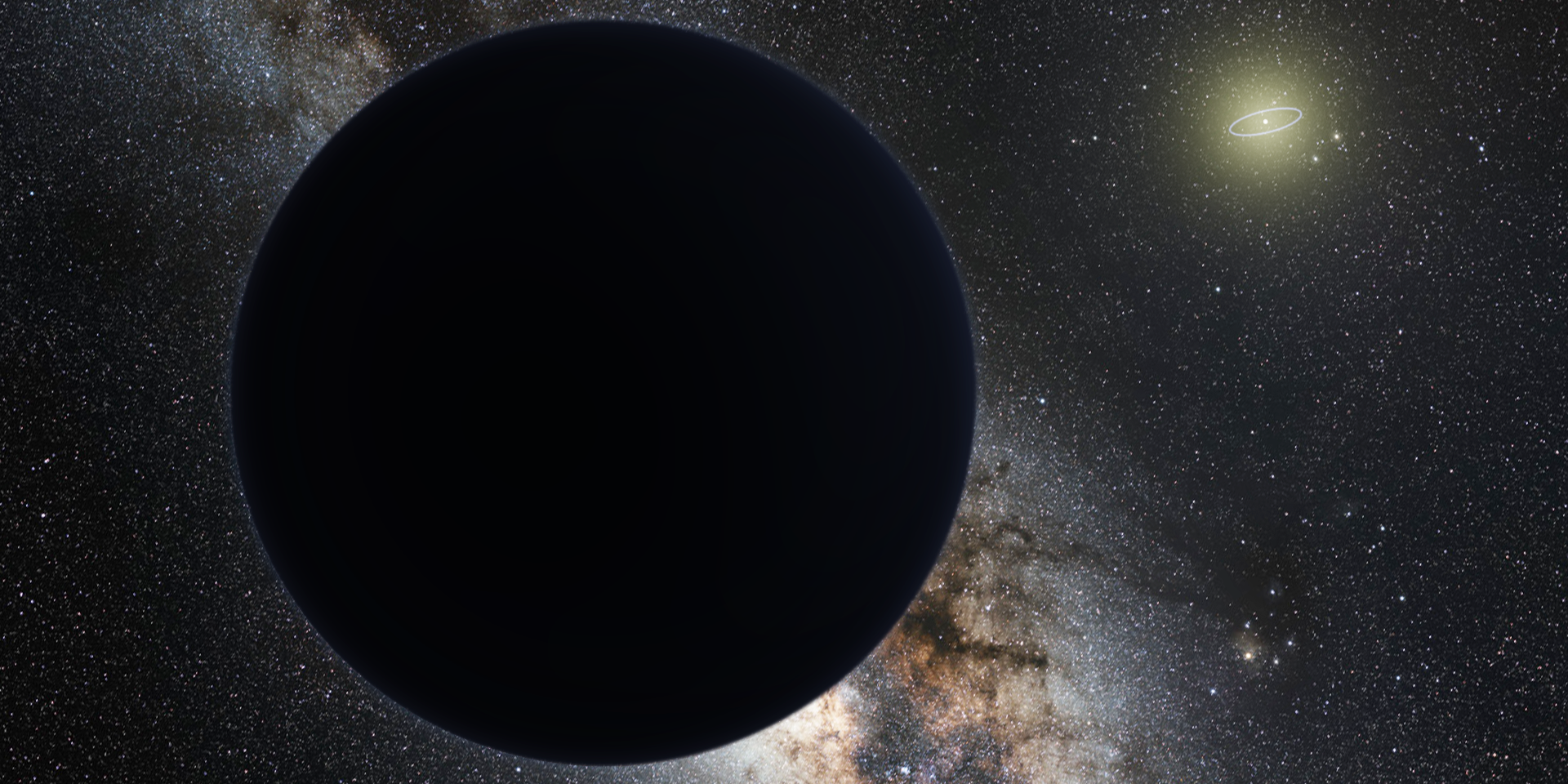 A massive planet lurking in the outer solar system could be tilting our cosmic neighborhood.
