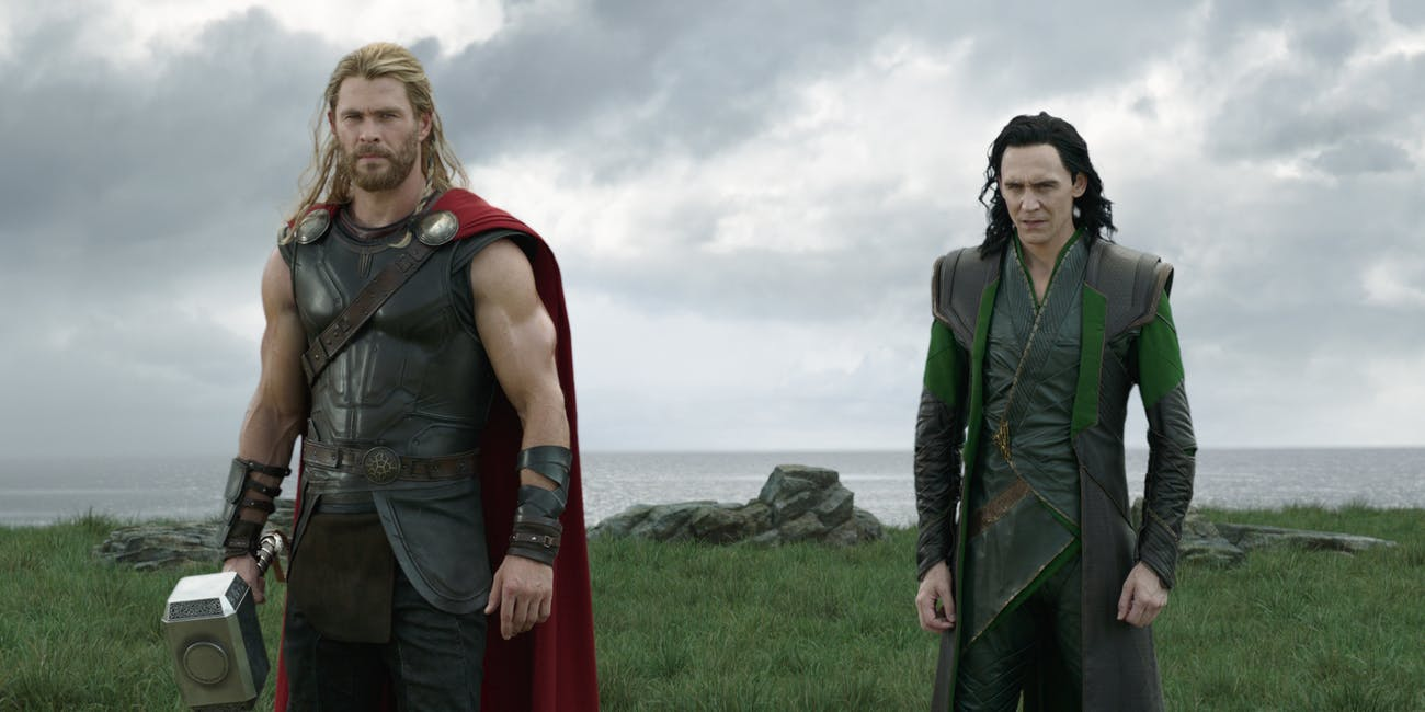 Thor and Loki team up in 'Ragnarok', seemingly for good.