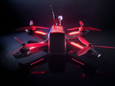 "The Drone Racing League Reveals Its ""Batmobile"" Drone"