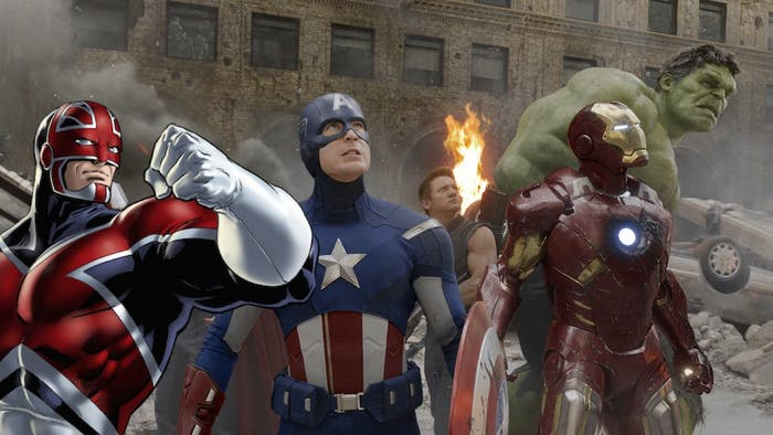 Captain Britain would have fit in nicely during 'Avengers', right?