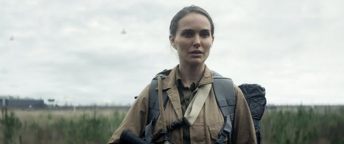 Natalie Portman plays Lena in 'Annihilation'.