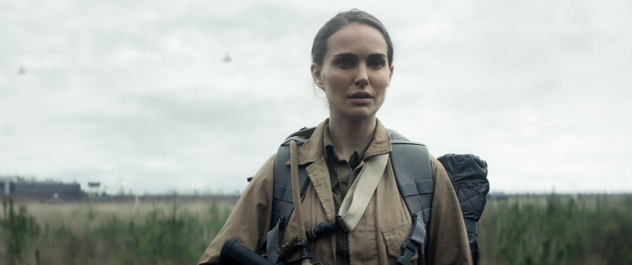 Natalie Portman plays Lena in 'Annihilation'.