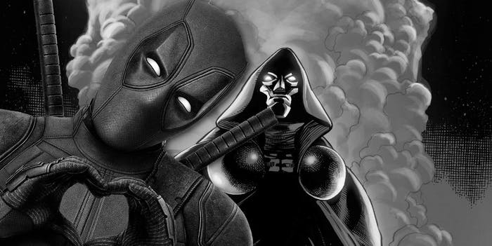 Deadpool Doctor Doom