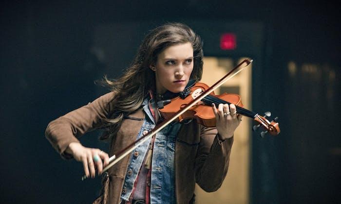 Miranda MacDougall as Izzy Bowin on 'The Flash'