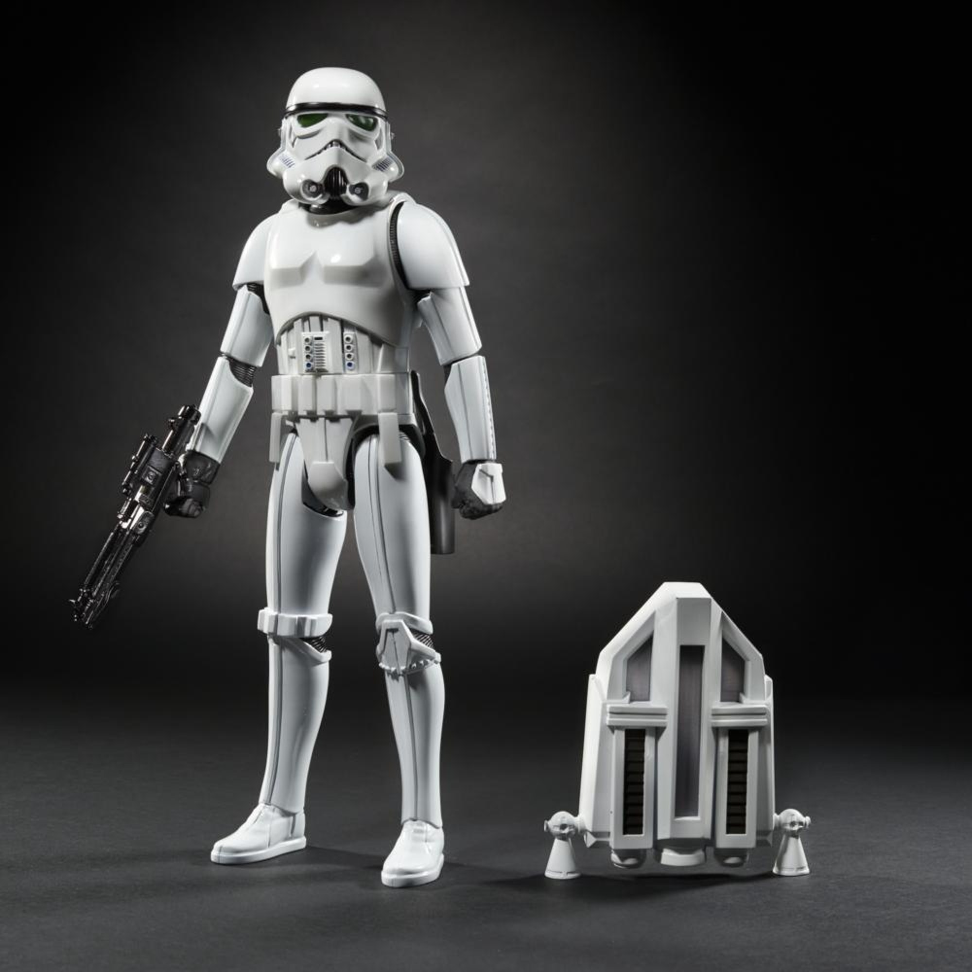 12 Inch InteracTech Imperial Stormtrooper with jetpack.