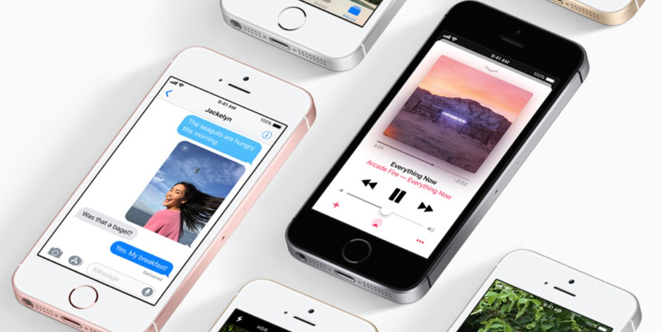 iphone se apple smartphone