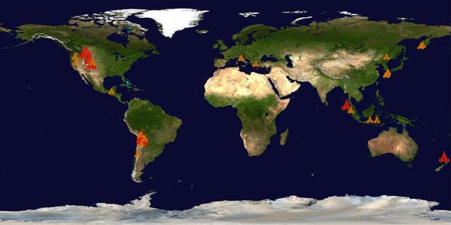 What Is a Supervolcano? Here's a Map of the Major Eruptions | Inverse