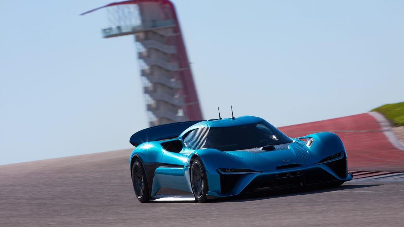 The EP9 at Circuit of the Americas.