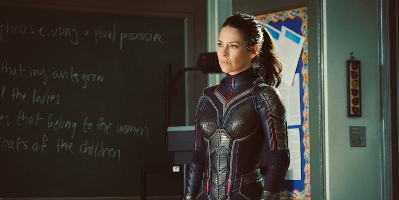 We've got the best look yet at the Wasp costume.