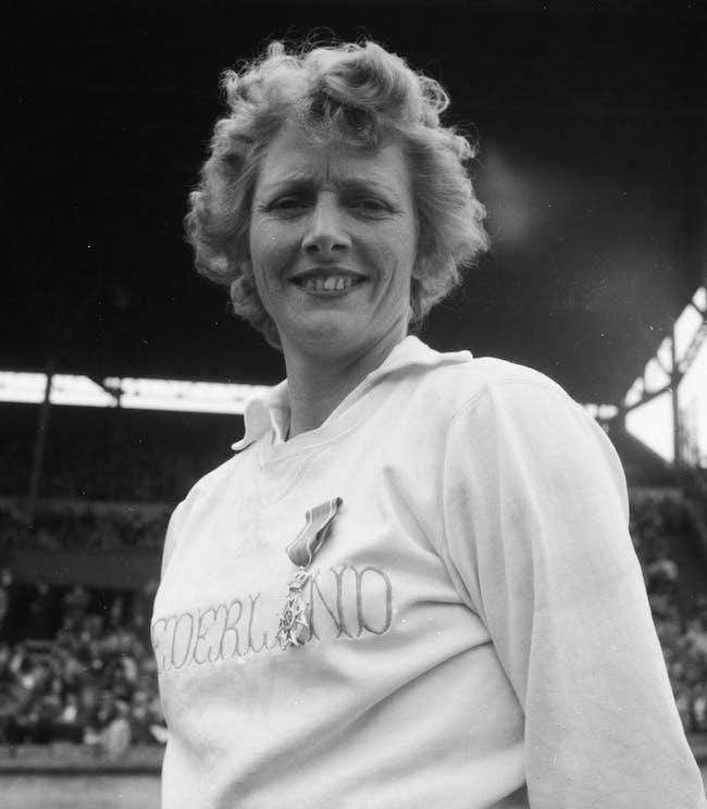 Fanny Blankers-Coen in 1949
