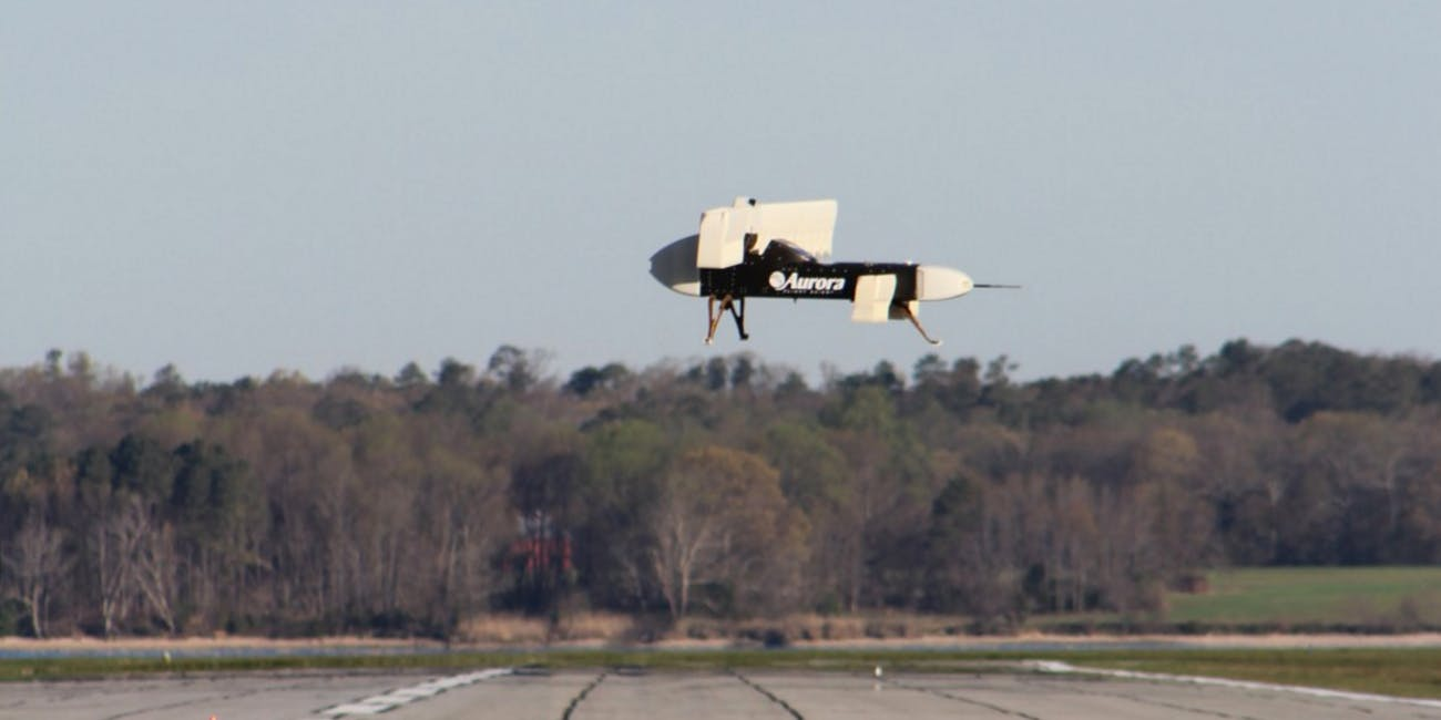 Aurora Tests DARPA's Groundbreaking New Plane