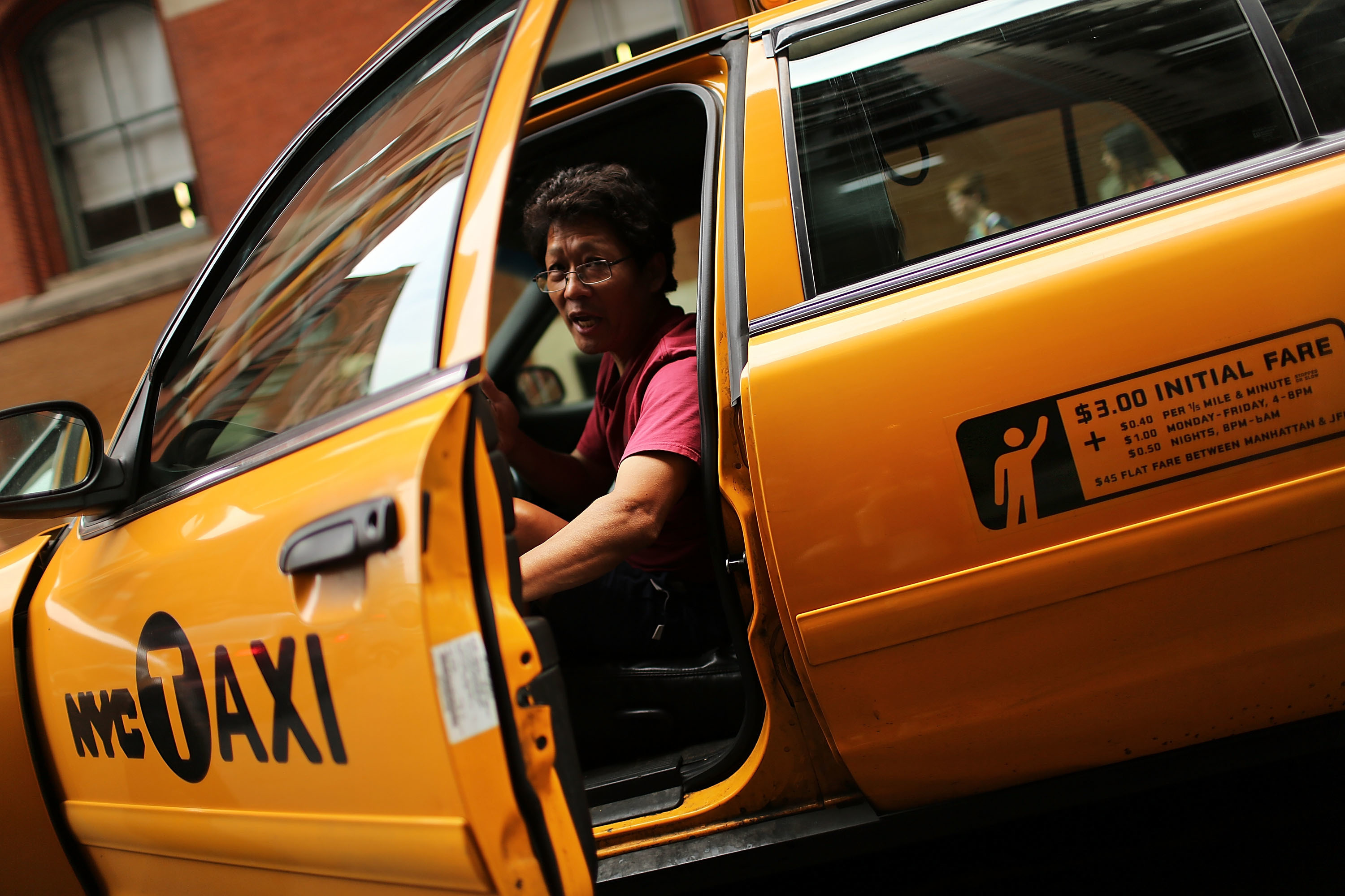 new york city taxi rates
