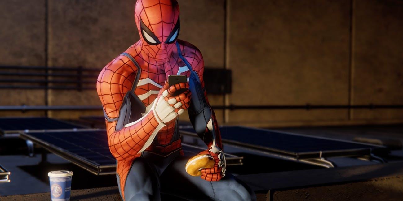 'Spider-Man' PS4