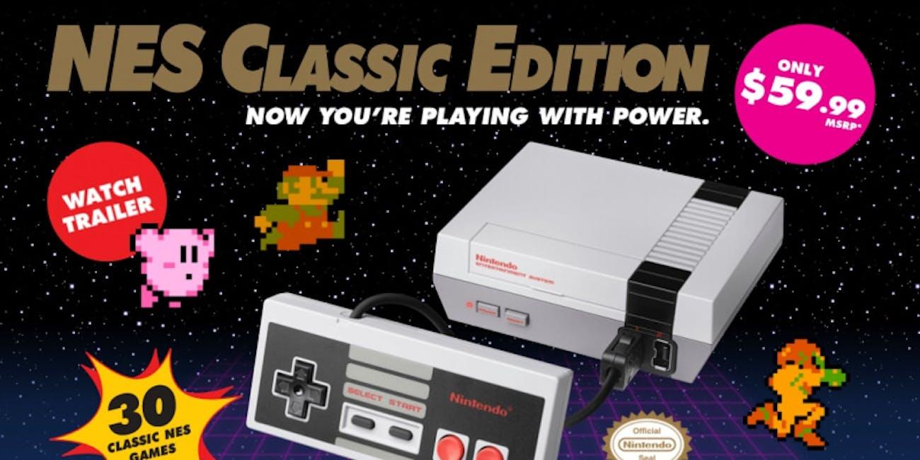 NES Classic stock gamestop amazon best buy