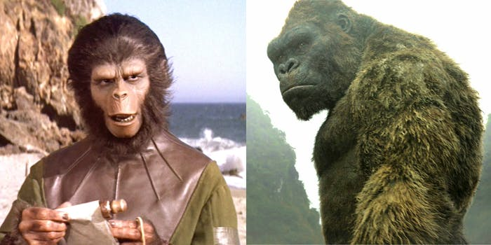 'Kong Of the Planet of the Apes'