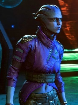 Peebee, a new Asari squadmate from 'Mass Effect Andromeda'