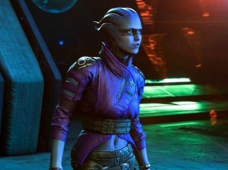 New 'Mass Effect' Asari Crew Member Is Nothing Like Liara