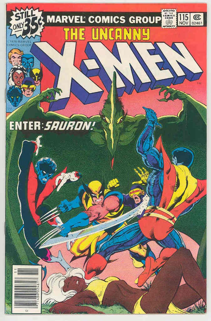 'The Uncanny X-Men' #115, the closest cover to Laura's 'X-Men' comic in the new 'Logan' trailer.