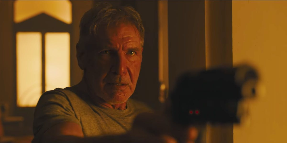 Blade Runner 2049 Harrison Ford Ryan Gosling Director Ridley Scott