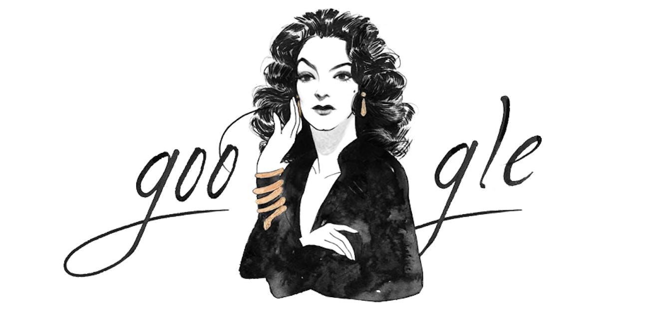 Maria Felix Google Doodle