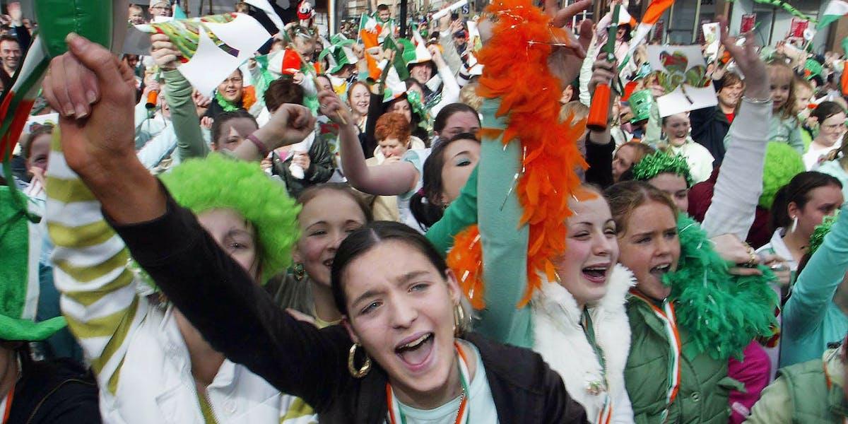 St. Paddy's Day Weed Marijuana New Green