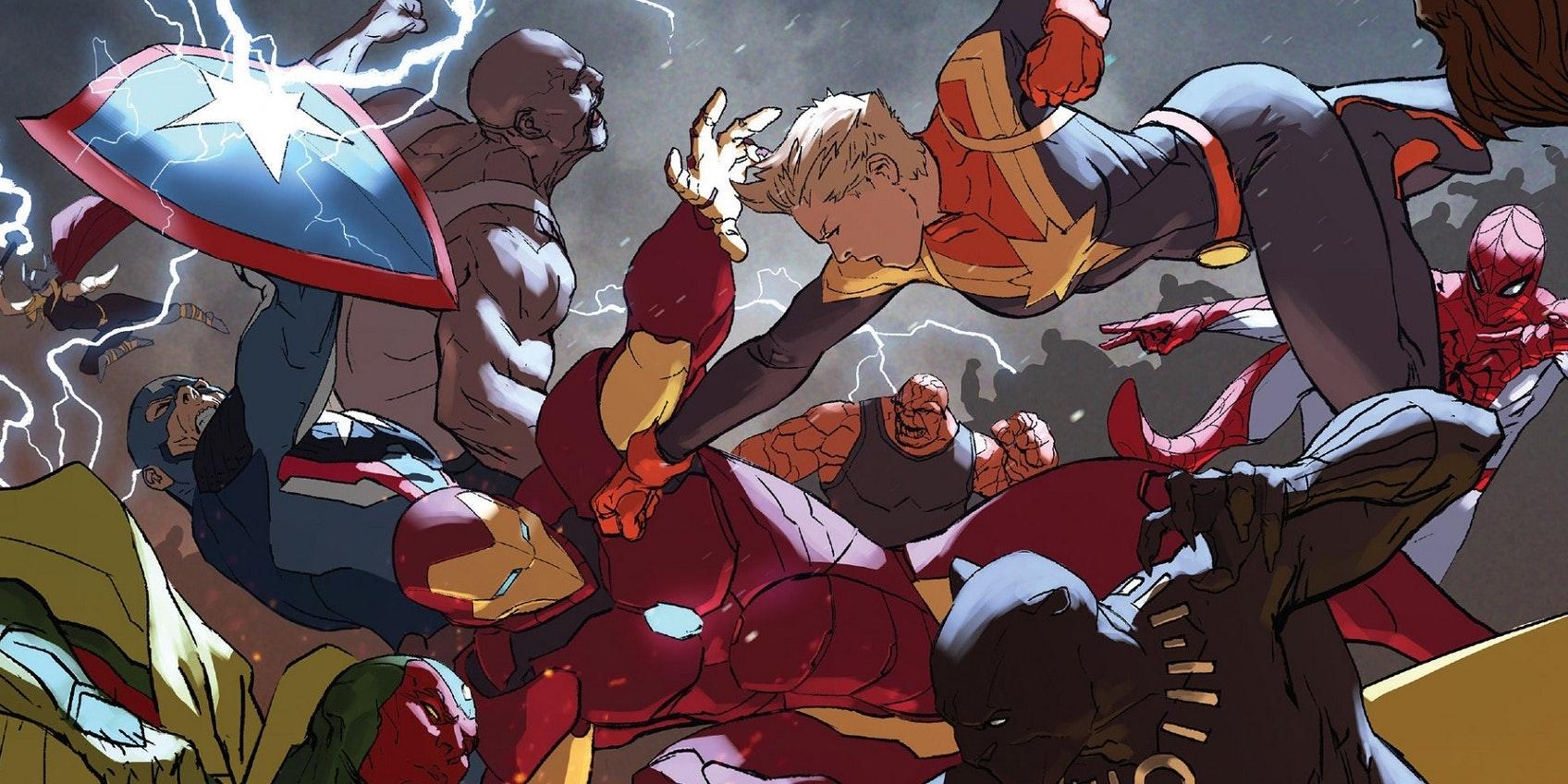 captain marvel civil war