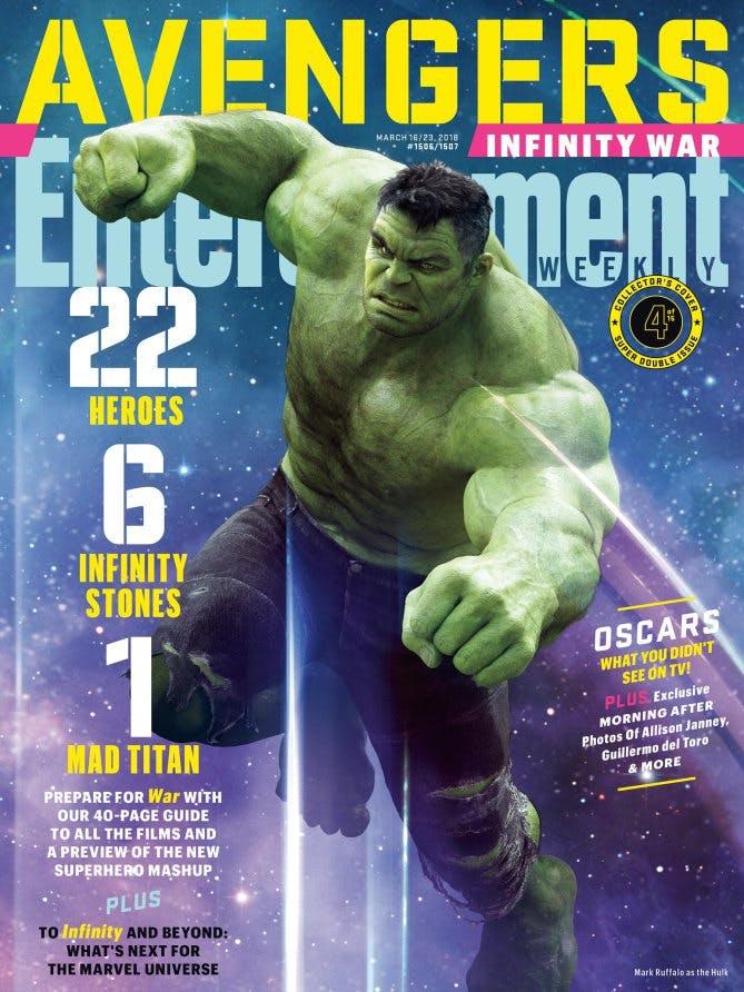 Marvel Infinity War Hulk