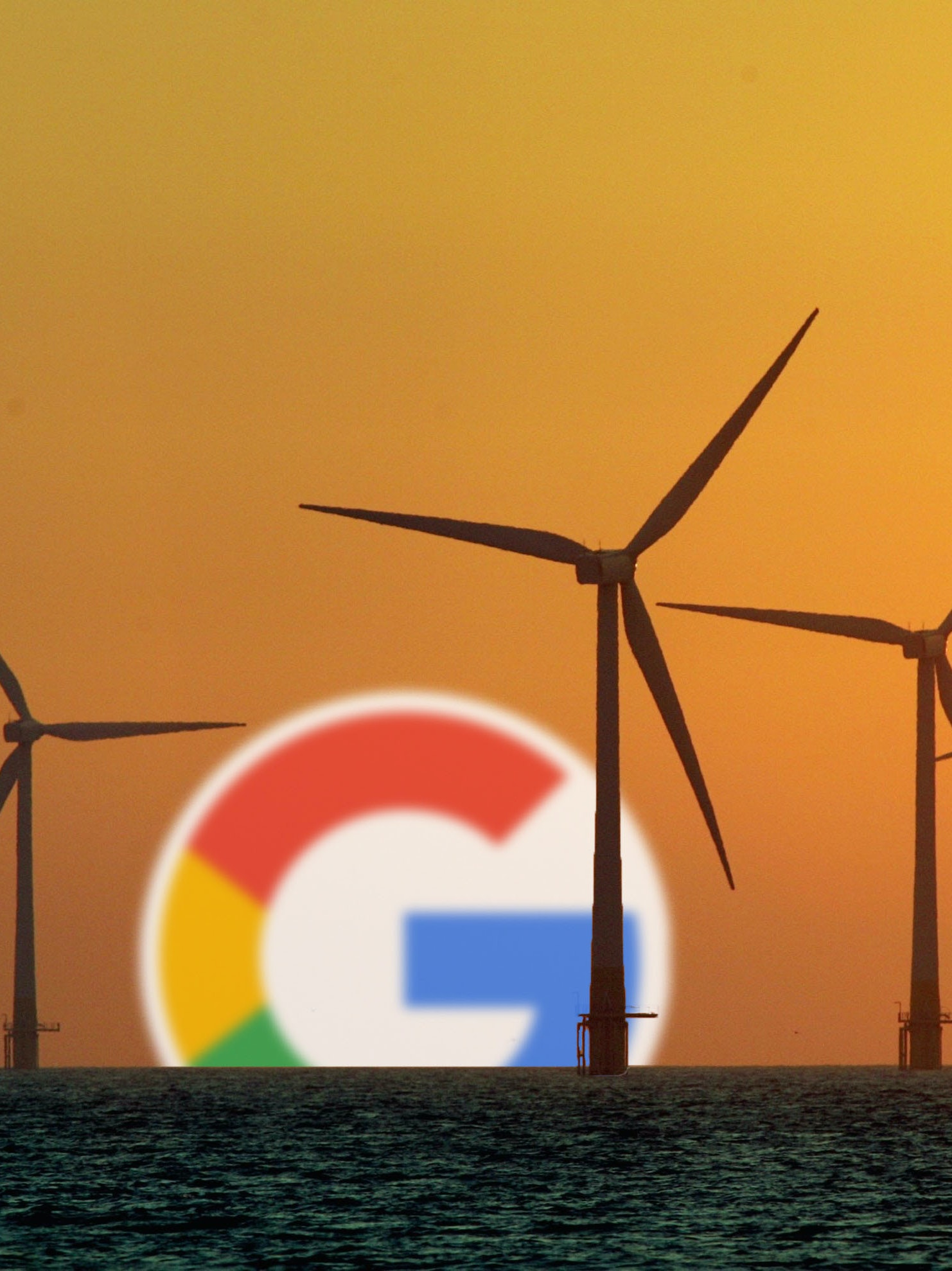 Google says it will run 100 percent on renewable energy starting in 2017.