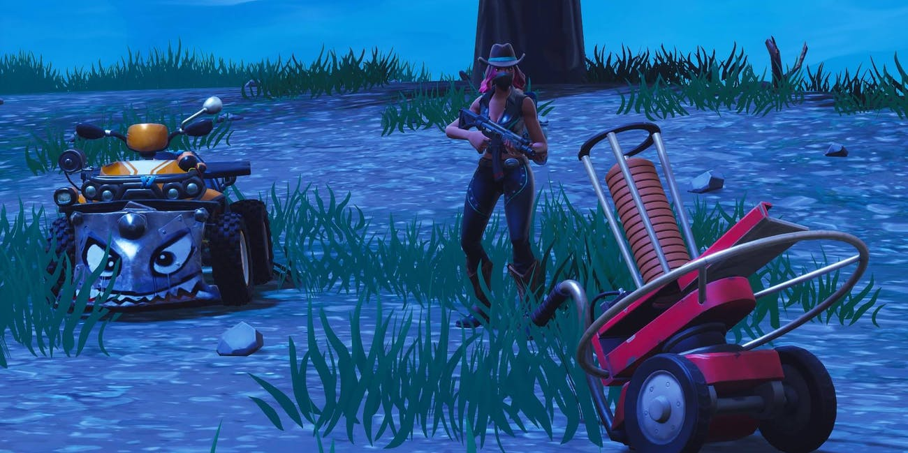 Fortnite Clay Pigeon Shooter And Quadcrasher