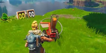 'Fortnite' Week 3 shoot clay pigeons at different locations.